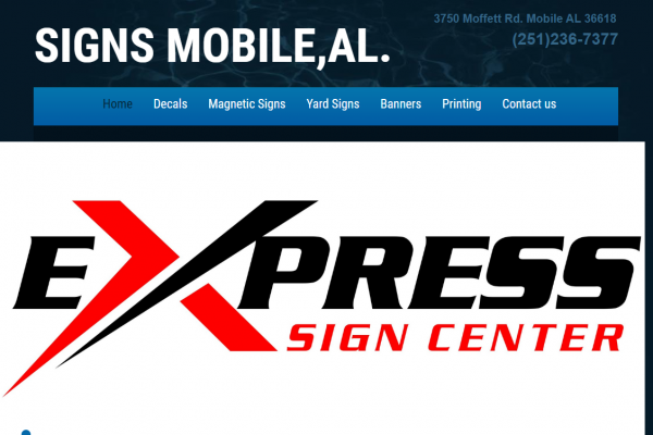 Express Sign Center Mobile Al