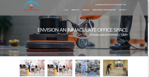 A&A Enterprises, LLC Commercial Cleaning Services